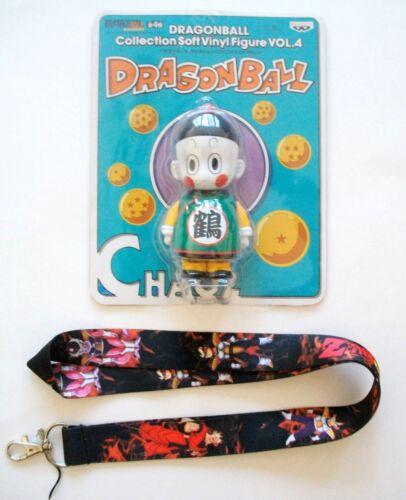 4 ~Free Lanyard~ US Seller Dragon Ball Collection Chaoz Soft Vinyl Figure Vol