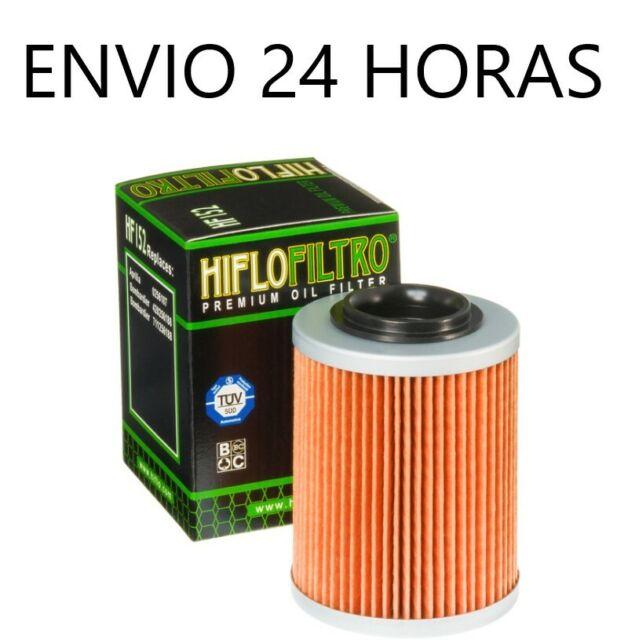 Filtro de aceite Hiflofiltro para Aprilia rsv 1000 tuono 2003-2004