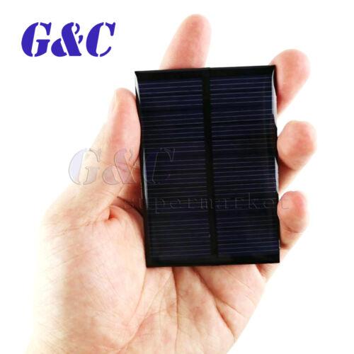 5V 6V 12V 0.15W-2W Polycrystalline Epoxy Solar Panel Photovoltaic Charger