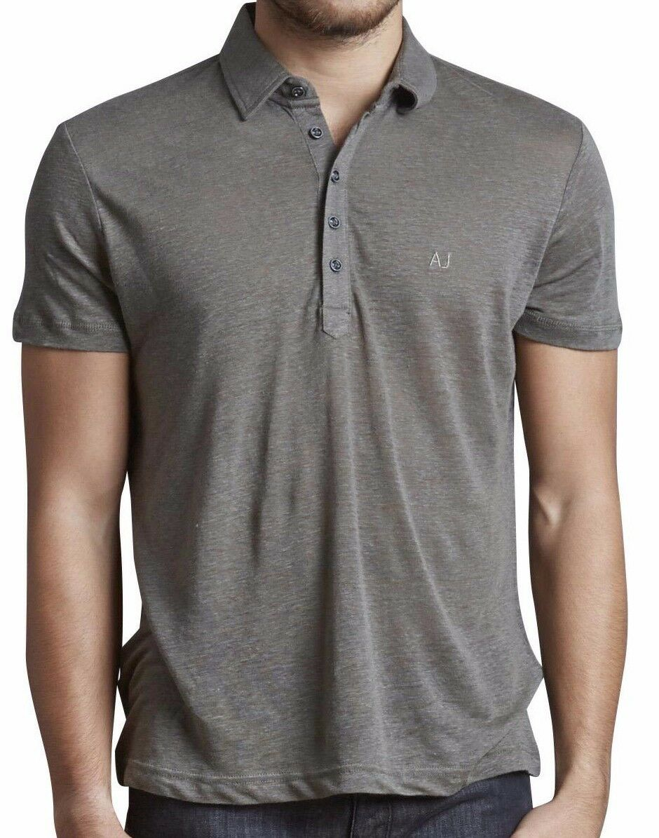 Armani Jeans Mens Khaki Green H S Polo Tshirt - Sz XXL & XXXL BNWT