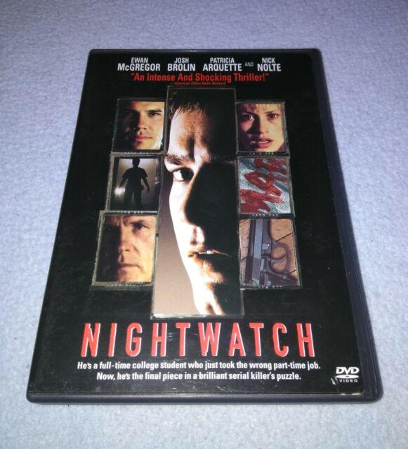 Nightwatch 1997(DVD, Ewan McGregor, Nick Nolte *RARE oop