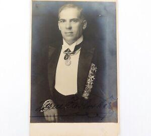 SCARCE-c1920-HERMAN-JADLOWKER-LATVIAN-TENOR-HANDSIGNED-REAL-PHOTO-POSTCARD