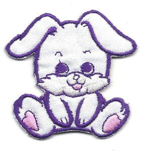 "2/"" Cross Stitch Bunny Rabbit Embroidery Patch"