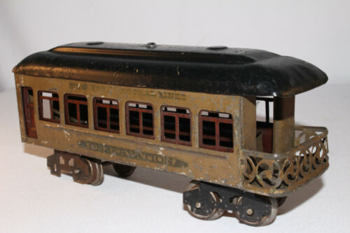 1920's Lionel O Scale #612 Observation Car