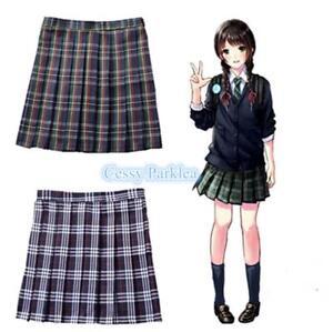 9d6b1a8ed Image is loading Girls-Women-Japanese-College-School-Uniform-Short-JK-
