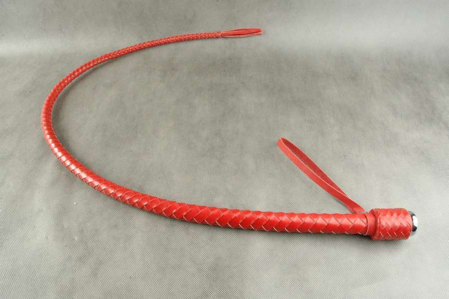 Genuine Leather Bull whip flogger crop