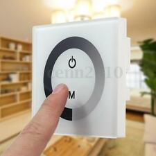 Single Color Touch Panel Dimmer Wall Switch Controller LED Light Strip 12-24V US