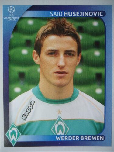 Panini 190 Said Husejinovic Werder Bremen UEFA CL 2008//09