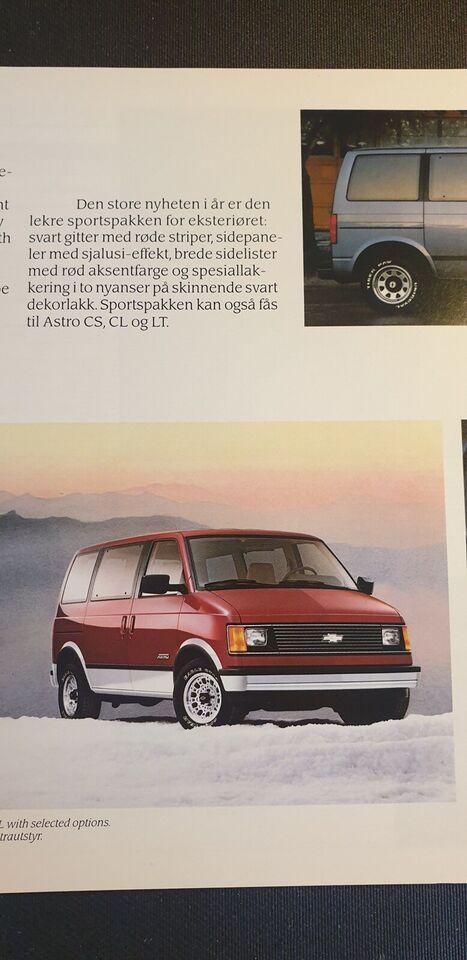 Brochure, Chevrolet Commercials