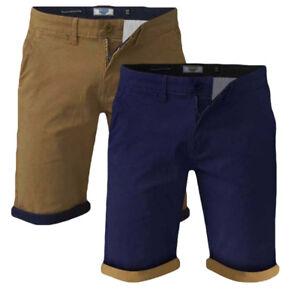Mens-Quality-Big-Size-Duke-Stretch-Chino-Shorts-42-034-56-034-Waist