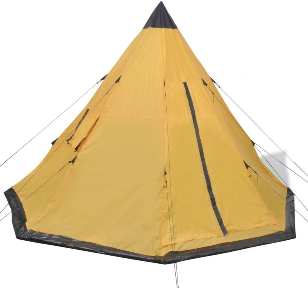 NEW 4 Season Indian Tent - 250cm H X 365cm W X 365cm D, A-Frame  4 Person