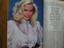 1982 TV Guide(PRISCILLA  BARNES/MERYL STREEP/ALICE  AT THE  PALACE/JAMES  WOODS)