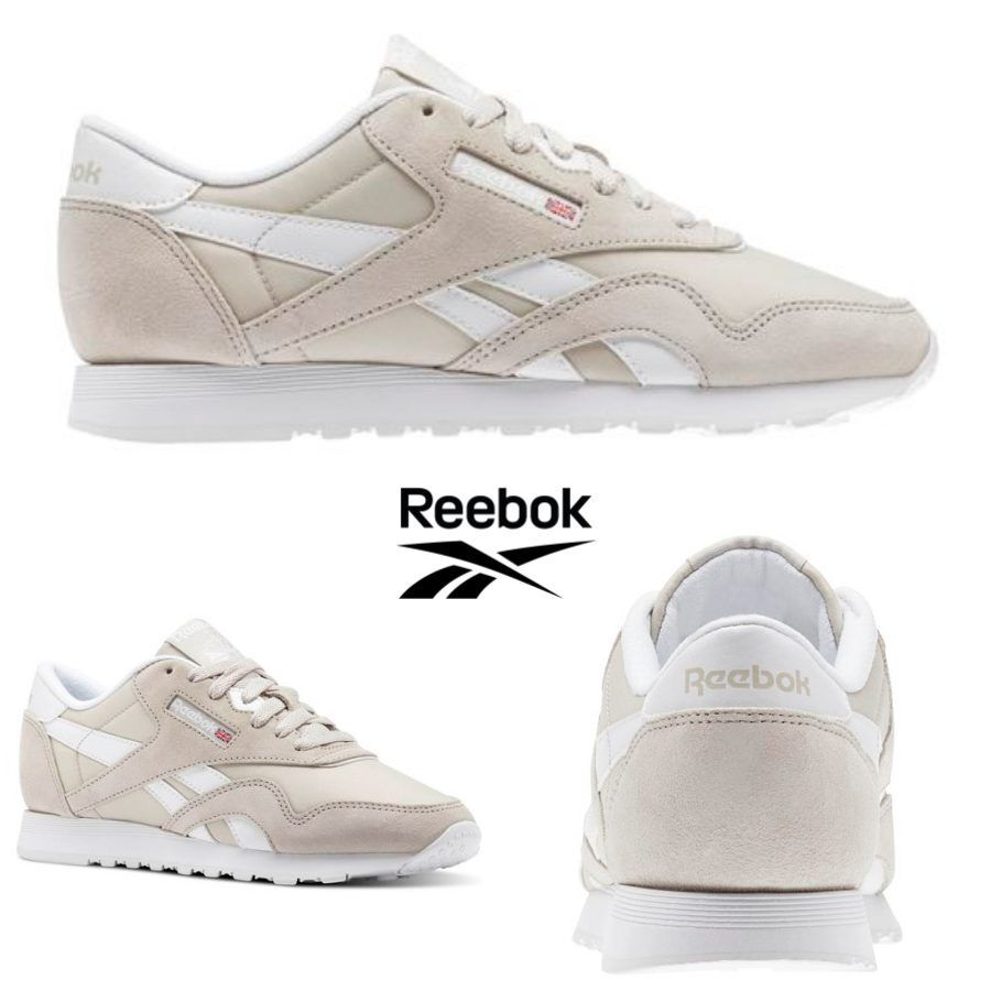 Reebok Classic Nylon Neutrals shoes Sneakers BS9379 SZ 4-12.5