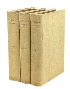 Arabian Nights (The Thousand and One Nights) 1865 Edition in Three Volumes