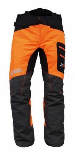 NUOVO in scatola Stihl Motosega Pantaloni Xfit design C Classe 1 Taglia Large Girovita 37-41