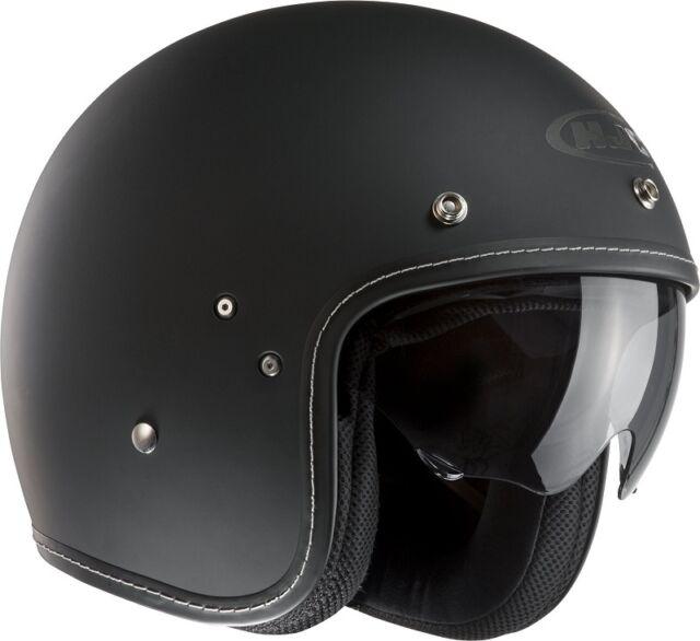 HJC FG-70S Open Face Motorcycle Helmet- Matt Black
