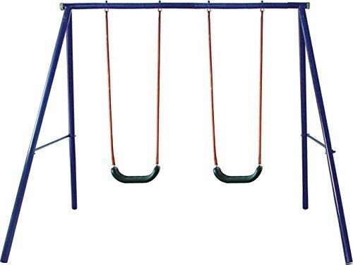 NEW Movement God Metal A Frame Two Seat Swing Set FREE SHIPPING