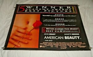 American Beauty Original UK Quad Movie Cinema Poster 1999 Kevin Spacey