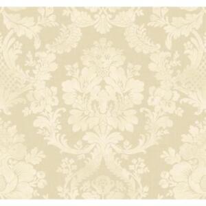 Wallpaper-Designer-Normandy-Manor-Large-White-Damask-on-Pearlescent-Beige