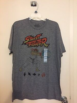 Ryu Street Fighter Hadoken T Shirt