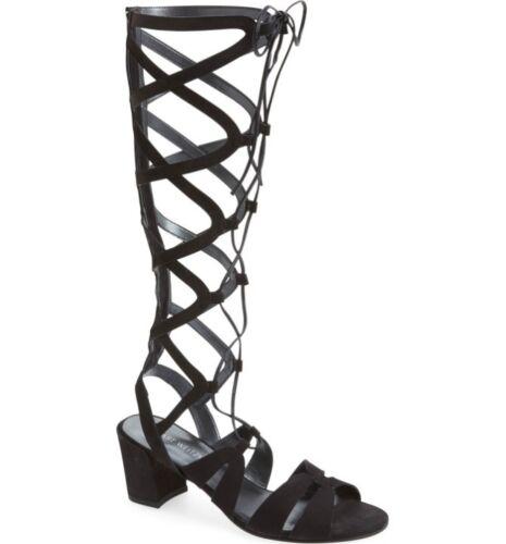 Weitzman Grec Stuart Haut Chaussures 8 Spartiates Sandales Bride Arrière R4qAq
