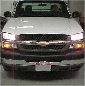 03 chevy silverado high beam kit gmc sierra 04 05 06. Black Bedroom Furniture Sets. Home Design Ideas