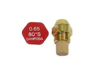 DANFOSS BRUCIATORE OLIO UGELLO 0.65 X 80S NUOVO