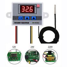 Ac110v 220v Digital Led Temperature Controller Thermostat With Transformer W3002