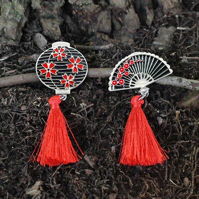 Alluring Blossom Pin Badge Enamel Metallic Floral Jacket Shirt Collar Brooch Pin