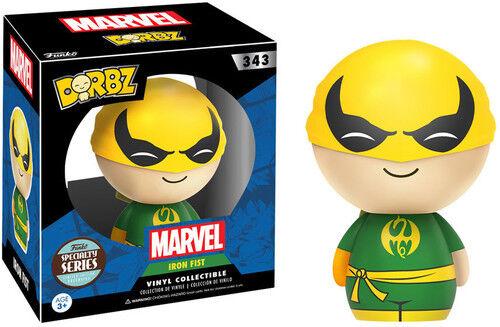 FUNKO DORBZ: Marvel Iron Fist Vinyl Figure Specialty Series New Toys