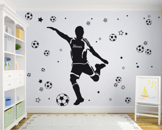 Fußball - Wandaufkleber collection on eBay!