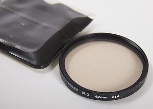 ROLEV M.G. 62 mm 81A Glass Filter Lens Compensation Color Camera Circular