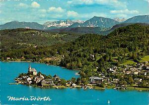 Maria-Worth-Hamburg-Austria-aerial-view-pm-1979-Postcard