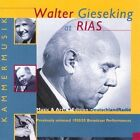 Walter Gieseking at RIAS: Music from a Divided City (CD, Jan-2002, 4 Discs, Music & Arts)