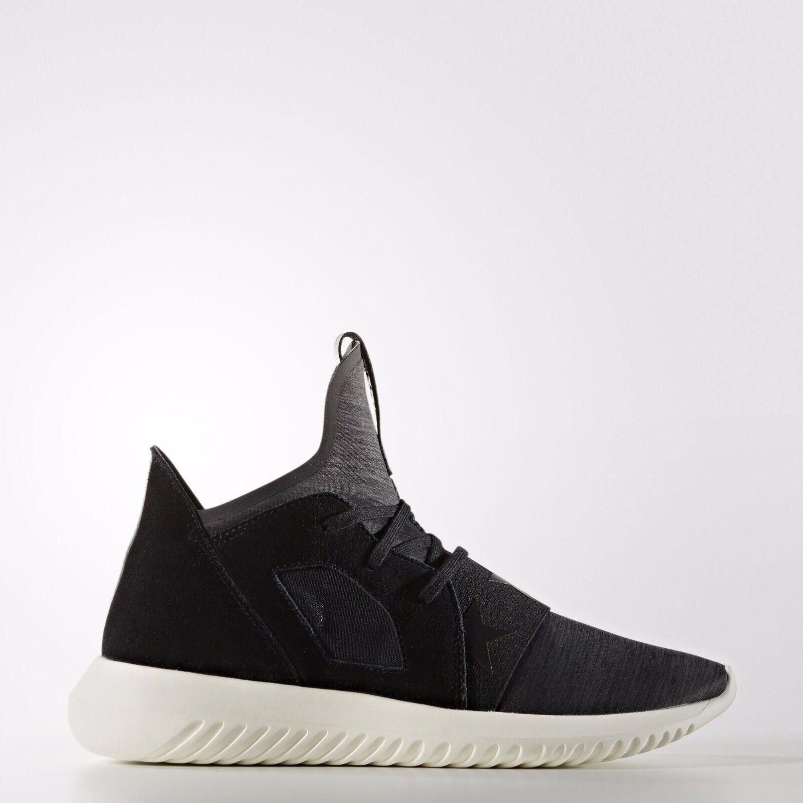 Adidas Women's Tubular Defiant NEW AUTHENTIC Black/Black/White S80291 : size 9.5