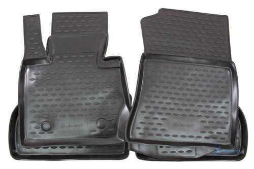 3D Gummifußmatten Gummimatten für BMW X3 F25 2010-2018 4-tlg Set