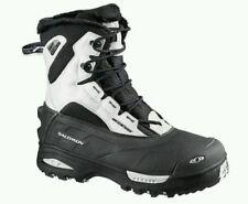 Salomon Toundra Mid WP Womens Boots US 10, Black/Cane/Black, 100997