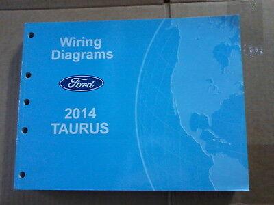 2014 FORD TAURUS WIRING DIAGRAM MANUAL   eBay