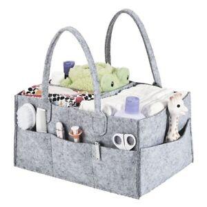 Baby-Diaper-Caddy-Nursery-Storage-Bin-Infant-Wipes-Bag-Nappy-Organizer-Basket