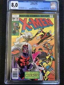X-MEN-104-CGC-8-0-White-Pages-WP-1st-STARJAMMERS-MAJOR-KEY-MOVIE-VF-Very-Fine