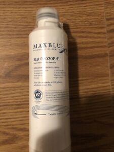 MaxBlue Refrigerator Water Filter Fits Samsung HAF-CIN/EXP, DA29-00020B