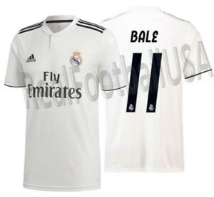 Image is loading ADIDAS-GARETH-BALE-REAL-MADRID-HOME-JERSEY-2018- 062643d7e