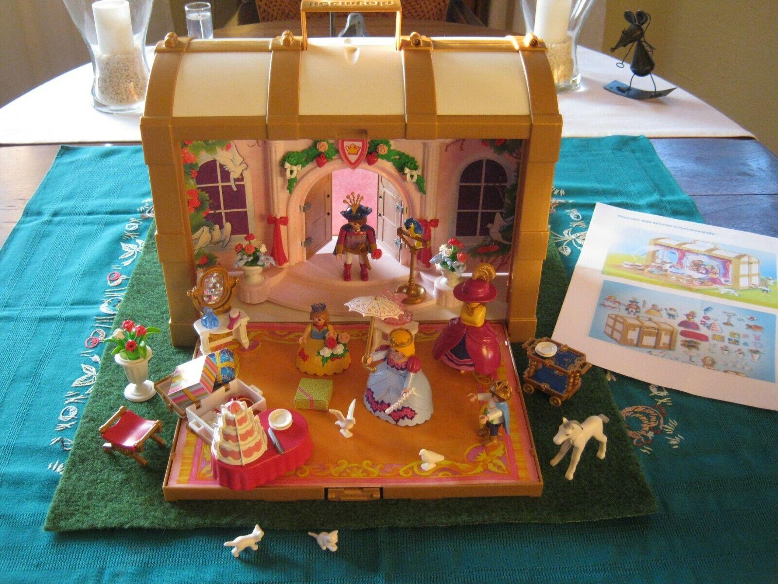 Playmobil 4249 Prinzessinnen Mitnehmkoffer Geburtstag für 4250 5142 6848+ OVP  | Treten Sie ein in die Welt der Spielzeuge und finden Sie eine Quelle des Glücks