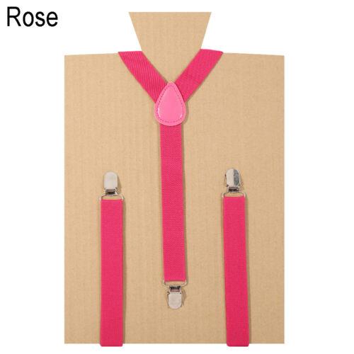 Men Women Adjustable Clip-on Suspenders Unisex Elastic Y-Shape Braces Wonderful