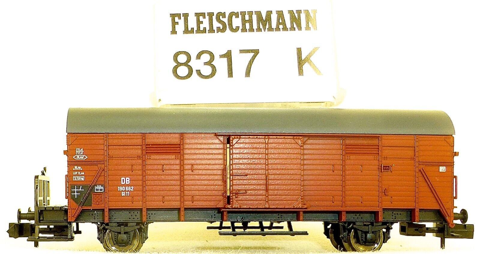 Carro Merci Gl 11 M Garitta Del Frenatore Db Ep. III Fleischmann 8317 - Nuovo