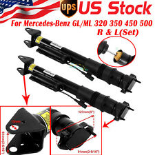 2PC Rear Air Suspension Shock Absorber Strut w/ADS for Mercedes ML GL 1643203031