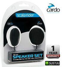 Cardo Scala Rider 32mm Replacement Speaker Set Qz Q1 Q3 G9x & Packtalk Audio Kit