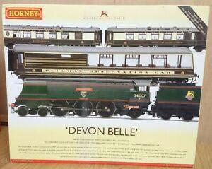 RARE-Hornby-R2817-Devon-Belle-with-Observation-Car-Train-Pack