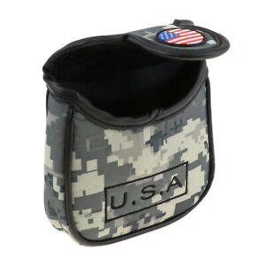 Golf Headcover  Sports Square Putter Head Protect Cover Gift for Golfer