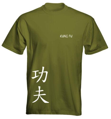 Velocitee Mens Premium Camiseta Martial Arts Kung-fu las opciones de colores vendedor de Reino Unido